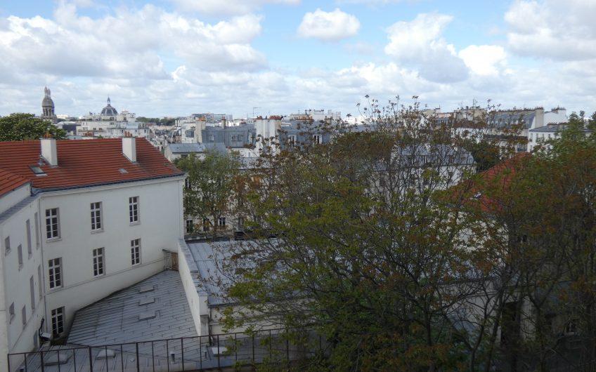 Face à la Butte-aux-Cailles, grand studio transformable en 2 pièces – Paris 13ème